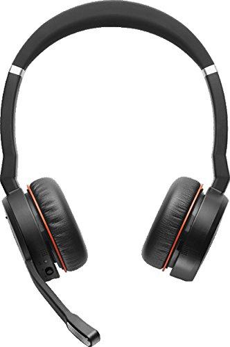 Jabra Evolve 75 MS Bluetooth Office Headset with ANC - Wireless -...