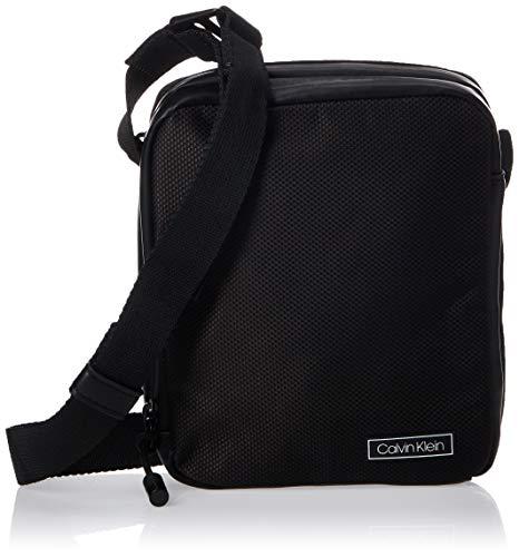 Calvin Klein Herren Revealed 2g Mini Reporter Taschenorganizer, Schwarz (Black), 0.1x0.1x0.1 Centimeters