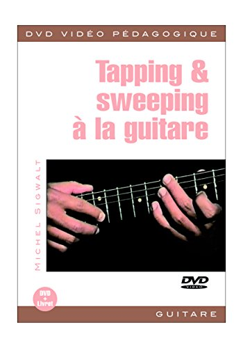 Sigwalt Michel Tapping & Sweeping Guitar Dvd French
