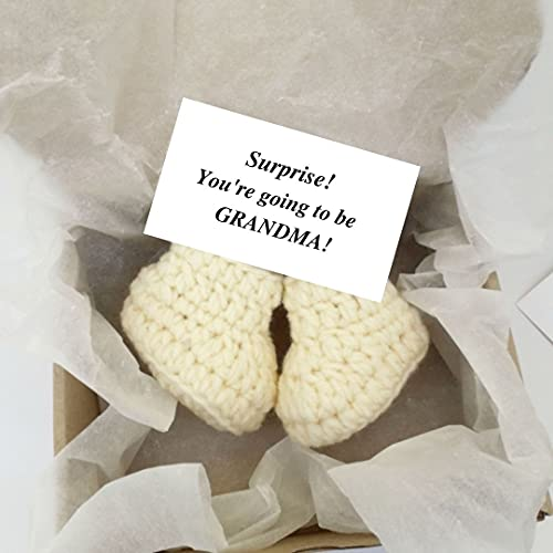 Grandma and Grandpa Announcement Gifts Baby Coming Soon Pregnancy Reveal Box for Grandparents, Auntie, Grandmother, Aunt, Uncle
