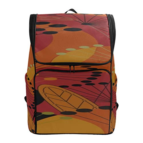 Colorful Umbrellas Circles Day Bags For Hiking New School Bag Best College Bags Messenger Backpack Fits 15.6 Inch Laptop And Notebook Woman Travel Bag Cute Travel Bag