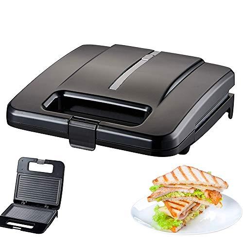 YC° Las Placas sandwichera eléctrica Parrilla en el Interior Grill Panini Press...