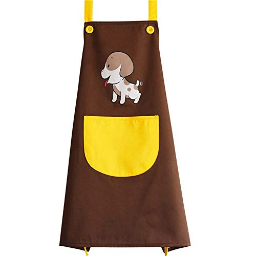 Delantal del vestido de la preparación del perro d El delantal multifuncional resistente de agua de la preparación del animal doméstico limpia fácil el delantal para el pintor de aceite Delantal Imper