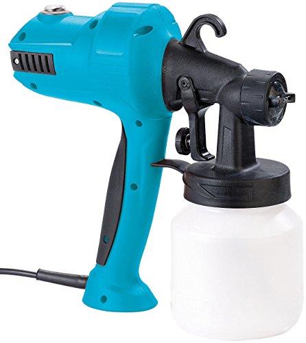 AGT Farbpistole: Elektrische Farbspritzpistole für Möbel und Türen, 450 Watt, 800 ml (Sprühpistole)