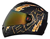 Steelbird SBA-1 R2K Live Full Face Helmet in Matt Finish Helmet Fitted with Clear Visor and Extra...