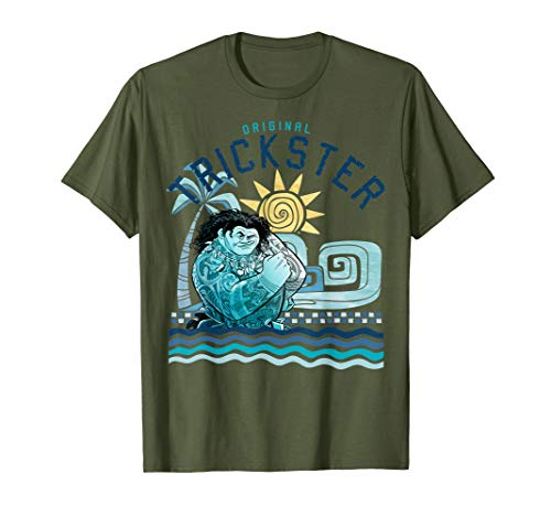 Disney Moana Maui Original Trickster Sunset T-Shirt C1