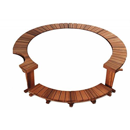 Softub Holzumrandung für Whirlpool Legend