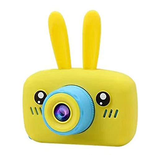 Kinderen Mini Camera Full HD 1080P draagbare digitale video fotocamera geel