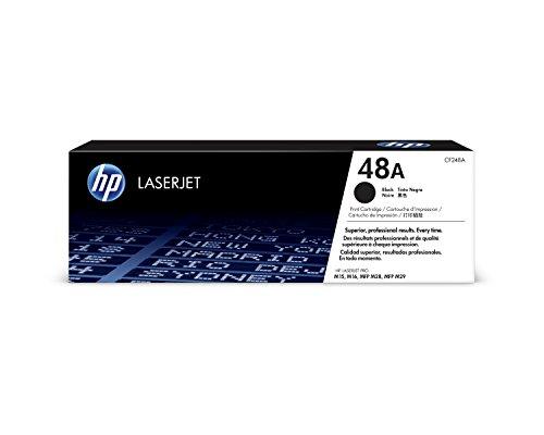 HP 48A | CF248A | Toner Cartridge | Black | Works with HP LaserJet Pro M15w, MFP M28w, M29w