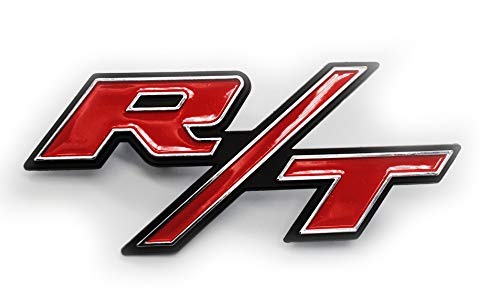 Custom Install Parts R/T RT Front Grille Emblem Clip On Compatible with 2011-2014 Dodge Charger