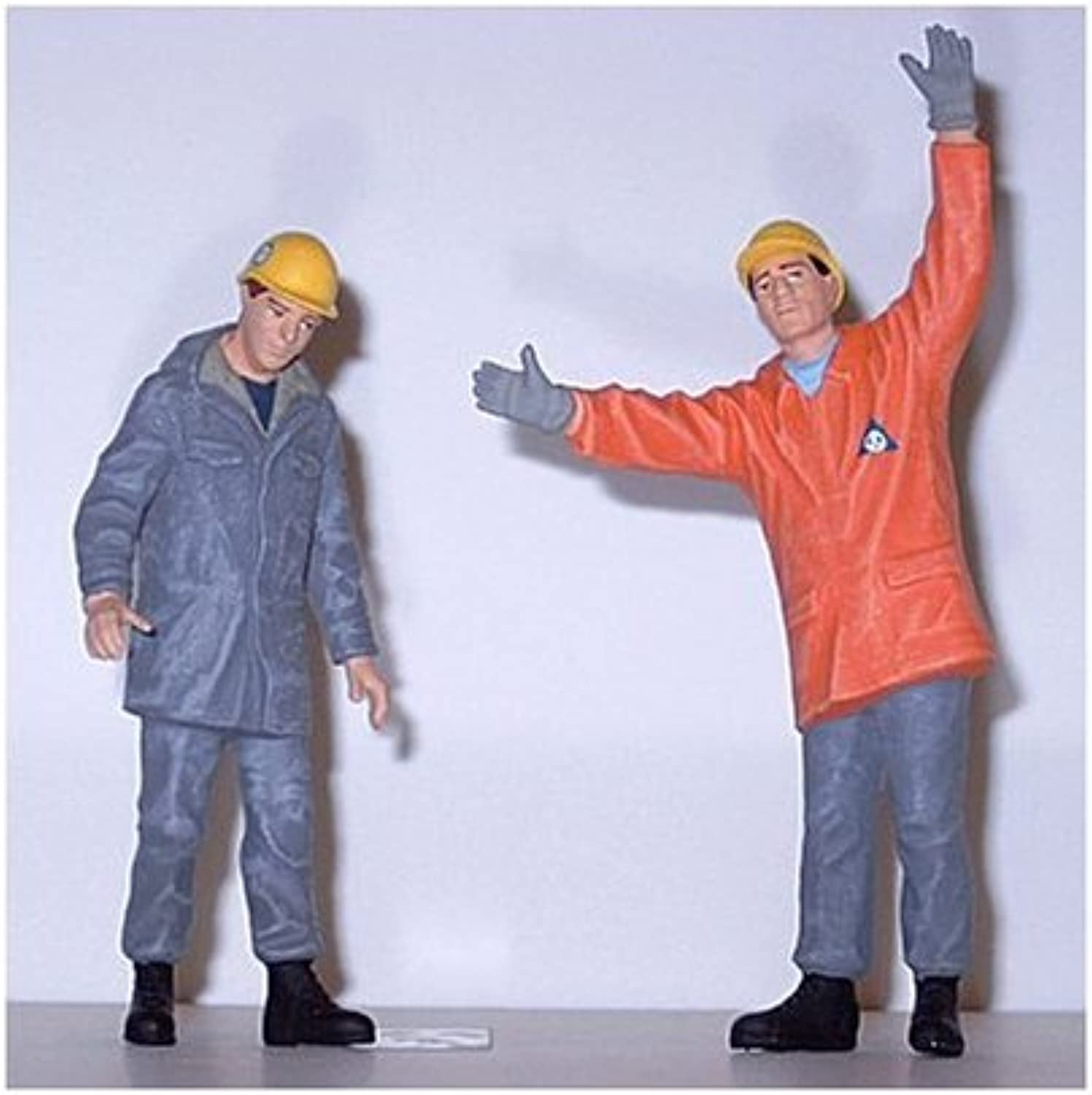FEDERAL TECHNICAL WORKERS - PREISER G SCALE MODEL TRAIN FIGURES 45016