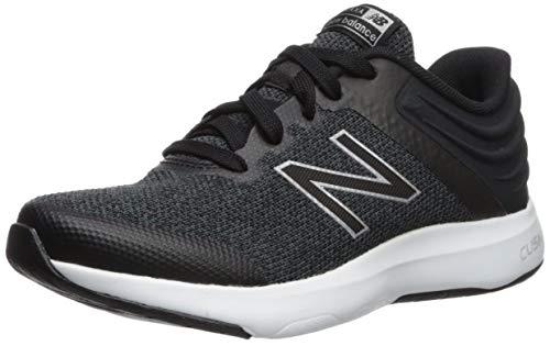New Balance Women's Ralaxa V1 Walking Shoe, Black/Silver Metallic/White, 9 M US