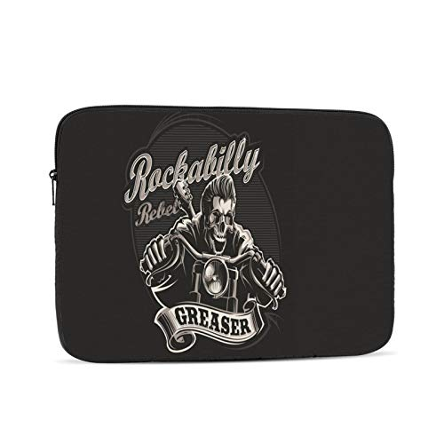 Motorcycle Chopper Man 10-17 Inch Classic Computer Bag Laptop Case Carrying Bag Chromebook Case Notebook Bag Tablet Cover,12 inch