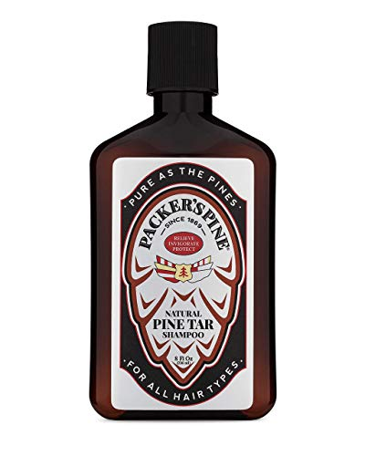 Packer's Pine Tar Shampoo | USA Made With All Natural Active Ingredients | Shampoo for Psoriasis Scalp Treatment and Seborrheic Dermatitis | Anti Dandruff Shampoo that Heals Itchy Scalp | Paraben Free