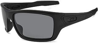 0d8fb9235 Oakley TURBINE OO9263L 926307 Preto Lente Polarizada Cinza Tam 65