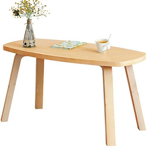 FEI Table de petit déjeuner Ordinateur portable Bureau Table de nuit Café/TV Bureau Jeu Écriture 3 Tailles (taille : 60 * 120cm)