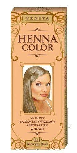 Henna Color 111 Blond Naturel Baume Pour Cheveux Colorant Naturel De Cheveux Couleur à Effet HennéÉcologique