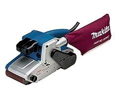 Makita 9404J Meuleuse à ruban 100 mm, 17 x 210 mm