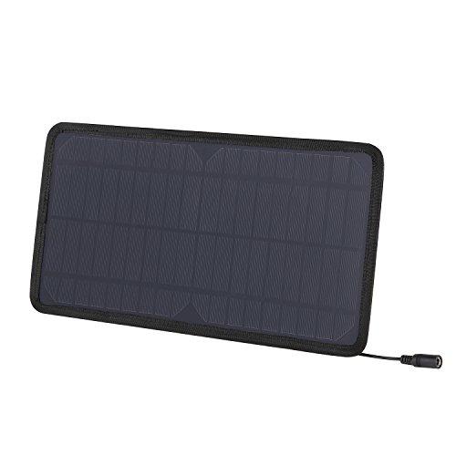 AUKEY Mini Solar Panel mit Auto 12V Steckdose Stecker und Kabel