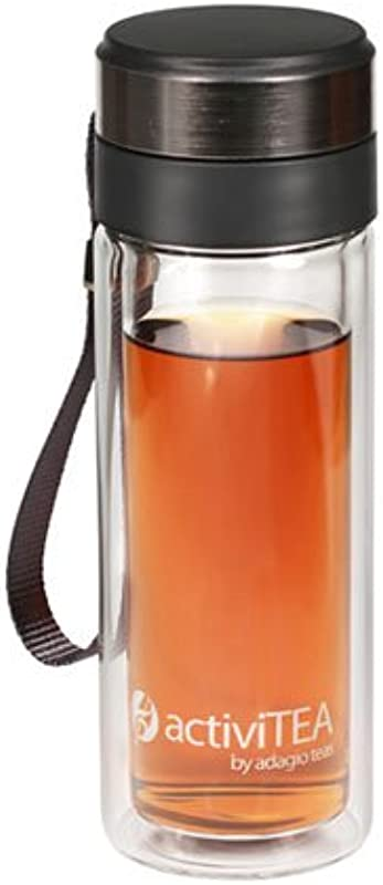 Adagio Teas 10 Oz ActiviTEA Portable Tea Infuser And Tumbler