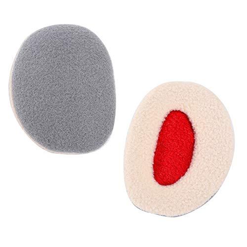 Yinuoday Orejeras Calentadores de Oídos sin Banda de Vellón con Cubiertas de Invierno Thinsulate para Hombres Mujeres 1 Pares