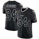 HYQ Uniformes NFL de fútbol Americano, Jefes de Kansas City, los Hombres de impresión de la Camiseta Superior de los Hombres de Manga Corta 15#...