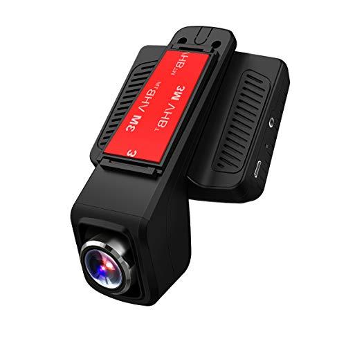 TOGUARD Auto Kamera GPS,WiFi Dash Cam Full HD 1080P,170° Weitwinkelobjektiv,2.45