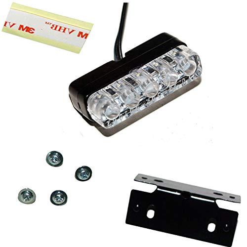 Mini LED Kennzeichen Beleuchtung Nummernschild Beleuchtung Motorrad Quad PKW Auto Anhänger