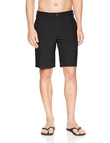 Hurley Men's Phantom Hybrid Stretch 20 Inch Short, Black, 36