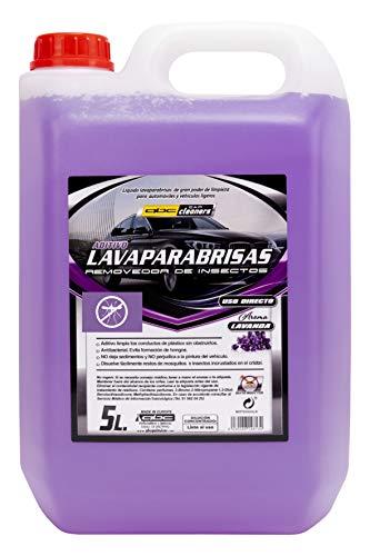 ABC Cleaners MOT20325LA LAVAPARABRISAS ANTIMOSQUITO AROMA LAVANDA 1 GARRAFA 5 LITROS, 1 UD