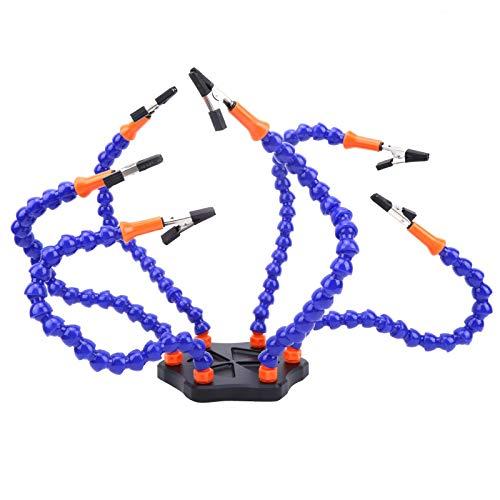 Ricambio per stazione di saldatura a sei braccio di terza mano per accessori modello drone RC