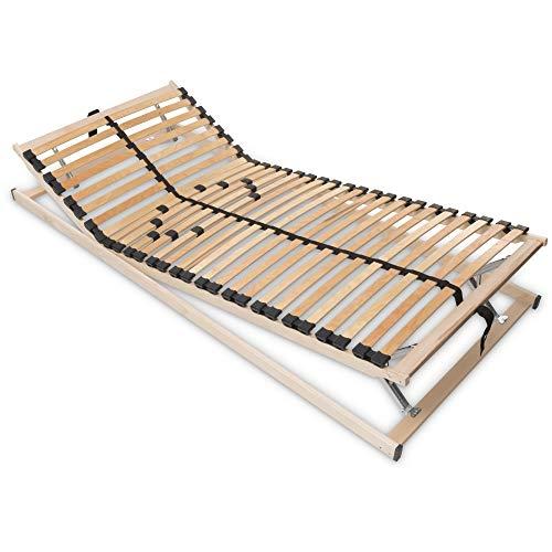 Betten-ABC Max1 K+F, Lattenrost zur Selbstmontage, mit Kopf- und Fußteilverstellung, Holm durchgehen Größe 140 x 200 cm