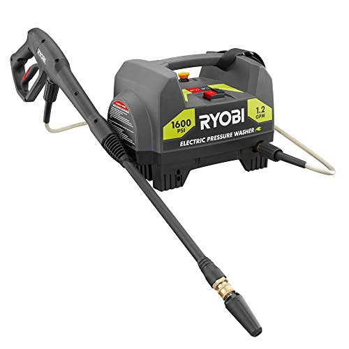 Ryobi 1,600-PSI 1.2-GPM Electric Pressure Washer (Model RY141612) (Renewed)