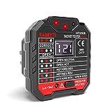 KAIWEETS Outlet Tester 48-250V, Receptacle Tester...