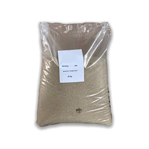Müller GmbH Filtersand 25kg beige Quarzsand Sand 0,71-1,25mm für Sandfilteranlage