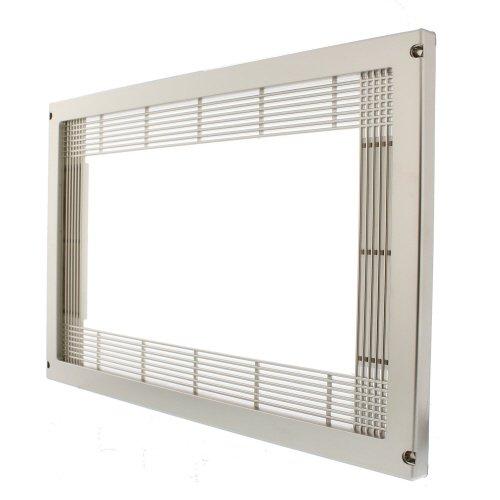 Scanpart 7300000112 Einbaurahmen für Mikrowellen, silber