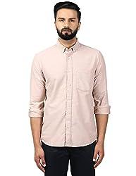 Colorplus Mens Plain Slim Fit Formal Shirt