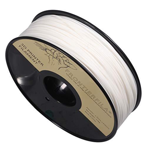 Nylon 1kg 1.75mm blanco - Filamento para impresora 3D - FrontierFila