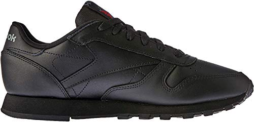 Reebok Damen Classic Leather Sneakers, Schwarz (Schwarz/black), 41 EU