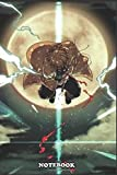 """Notebook: Kimetsu no yaiba D.S , Journal for Writing, College Ruled Size 6"""" x 9"""", 110 Pages"""