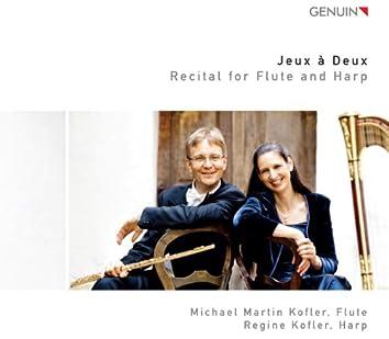 Jeux a Deux: Recital for Flute and Harp