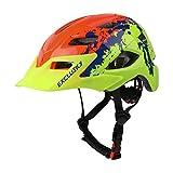 Ynport Crefreak Niños casco de bicicleta ajustable Skateboard casco deportes seguridad cabeza protección bicicleta accesorios
