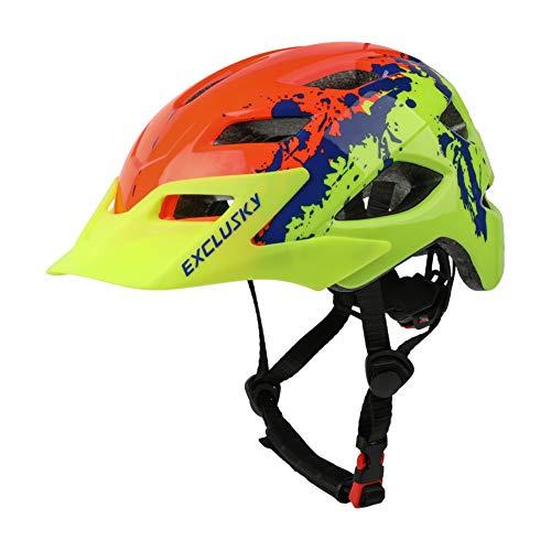 Ynport Crefreak Niños casco de bicicleta ajustable Skateboard casco deportes seguridad cabeza...