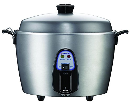 Tatung 11 Cup Multi-Functional Stainless Steel Rice Cooker