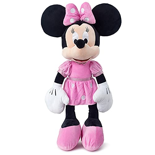 Simba- Disney Minnie Peluche, Multicolor, 25cm (6315874843)