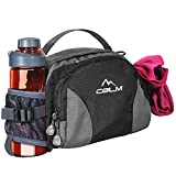 Hiking Fanny Pack with Water Bottle Holder for Men...