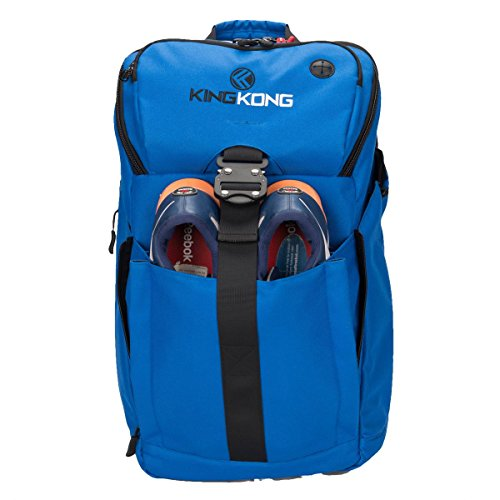 """King Kong Backpack II - Military Spec Nylon Gym Backpack with Expandable Pockets and Heavy Duty Buckles for Active Lifestyle - 20"""" x 13"""" x 7"""""""