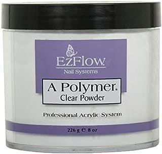 EZ Flow A Polymer Clear False Nails, 8 Ounce