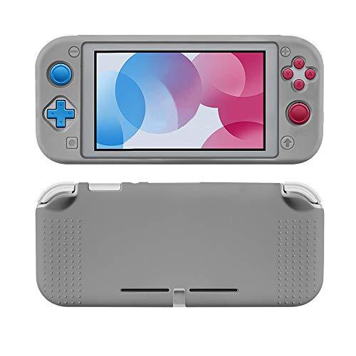 Capa De Silicone Proteção Para Nintendo Switch Lite - Grey