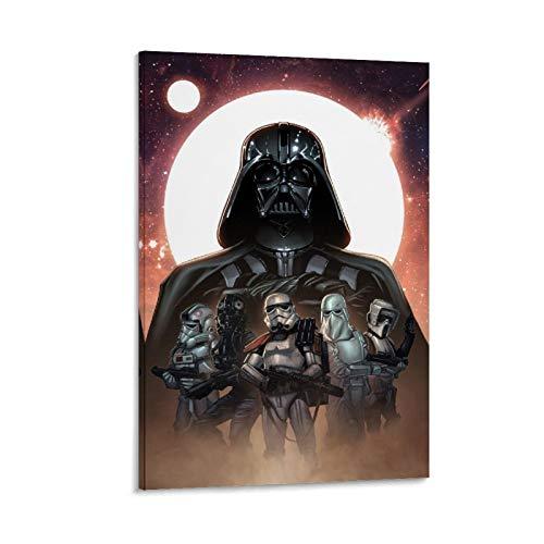 DRAGO VINES Star Wars L'ascesa di Skywalker Impero Galattico Darth Vader Adulto tela poster decorazione Villa 40x60cm